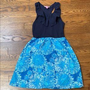 LNWOT Lilly Pulitzer navy dress